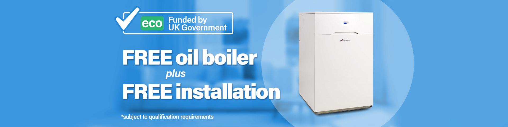 Apply For A Free Oil Boiler | Eco Boiler Grant